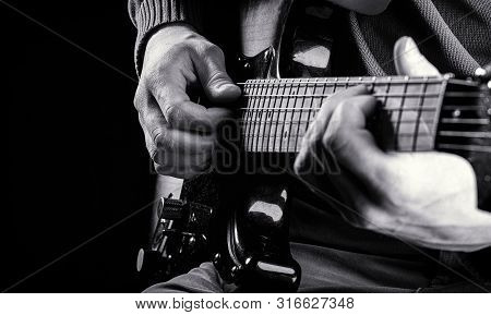 Musical Instrument. Guitars, Strings. Music Concept. Guitar Acoustic. Play The Guitar. Live Music. M