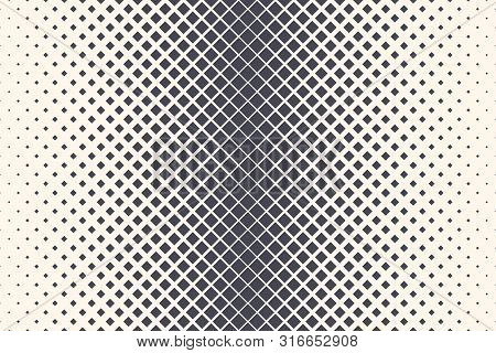 Rhomboid Shapes Vector Abstract Geometric Technology Extreme Sports Background. Halftone Rhombus Ret