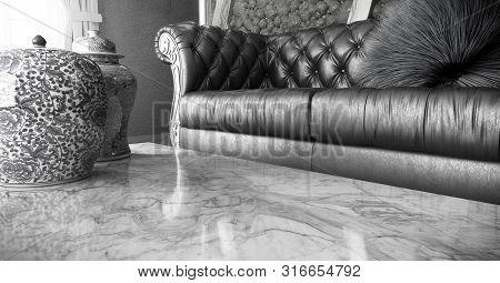Living Room Close Up 3d Render Image
