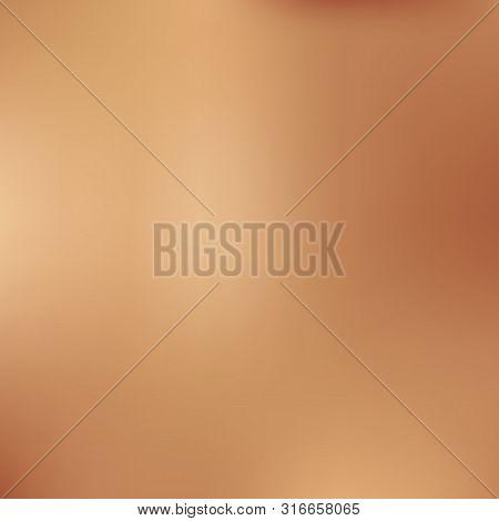Vector Illustration Of Realistic Bronze Metall Texture