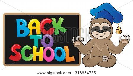 Back To School Design 9 - Eps10 Vector Picture Illustration.