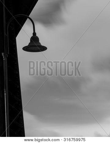 Historic Trestle Train Bridge Lamp