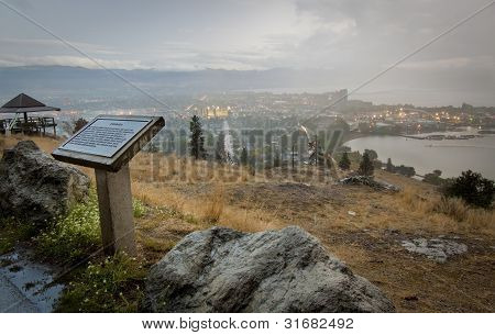 Scenic View of Okanagan Valley