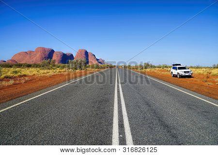 Northern Territory 360 Km Southwest Of Alice Springs Central Australia Photo Of Olgas Taken 30/05/20
