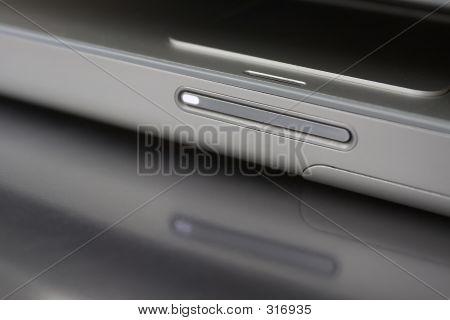 Notebook Computer Detail Reflected