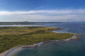 An Aerial Shot Of Cape Uljeva And Kuje Lagoon In Liznjan, Istria, Croatia