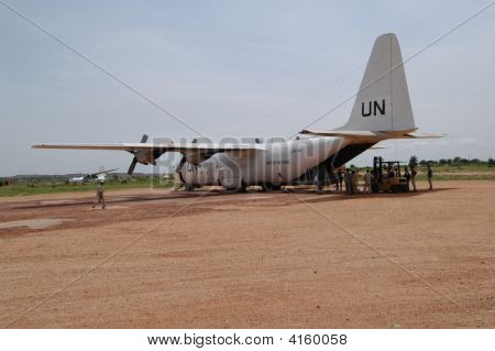 Un Flight In Darfur