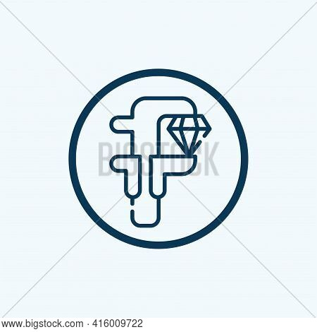 Size Icon Isolated On White Background From User Interface Collection. Size Icon Trendy And Modern S