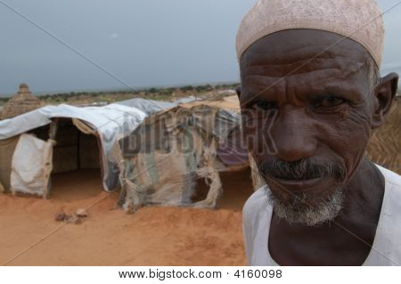 Elderly Man In Darfur