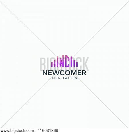 Nc Wave Music Logo Design Modern Equalizer