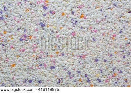 Detail of a natural sponge texture recycled background