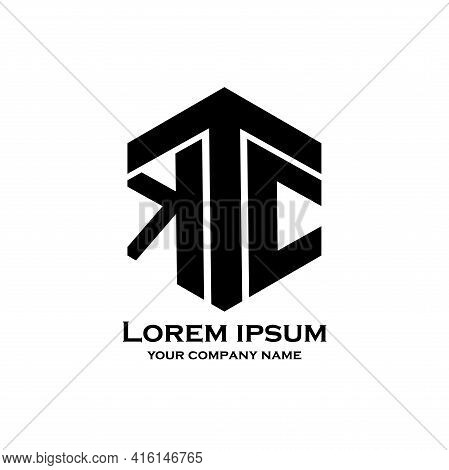 Tkc Design Logo Vector. Tkc Illustration Logo Business