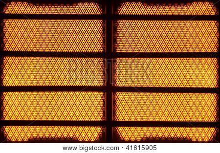 Glowing Ceramic Heater