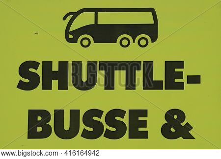 Shuttle Bus For Transportation And Mobility
