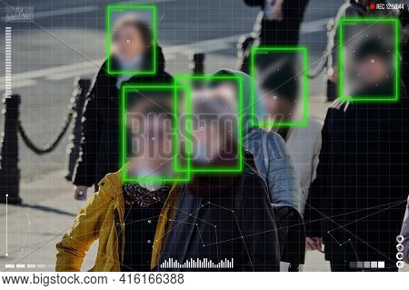 The Concept Of A Modern System Of Safe Surveillance Of Citizens On City Streets.