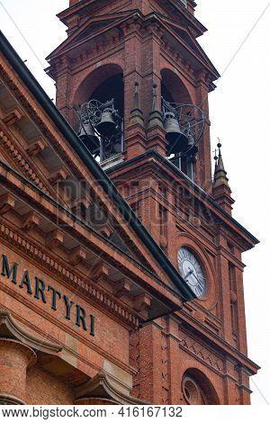 Saint Stefano Protomartire Cathedral. Casalmaggiore, Lombardia, Italia