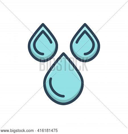 Color Illustration Icon For Oil Lube Paraffin Tallow Fat Drop  Lubricant Splash