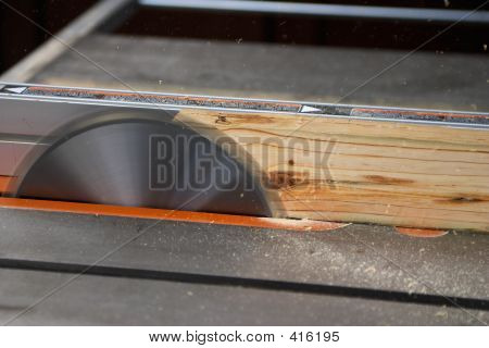 Ripping On A Table Saw
