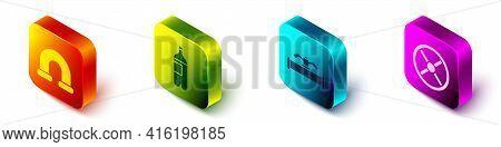 Set Isometric Industry Metallic Pipe, Bottle Of Water, Industry Pipe And Valve And Industry Valve Ic