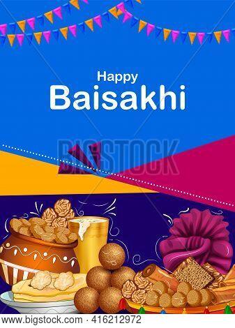 Punjabi Happy New Year Baisakhi Celebrated In Punjab, India