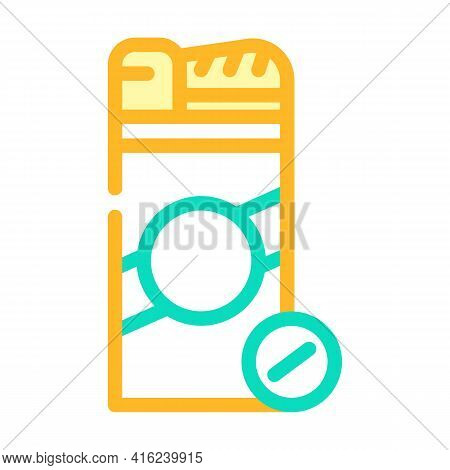 Sugar Substitute Color Icon Vector. Sugar Substitute Sign. Isolated Symbol Illustration