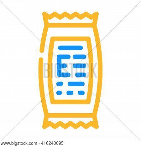 Description Of Food Additives Color Icon Vector. Description Of Food Additives Sign. Isolated Symbol