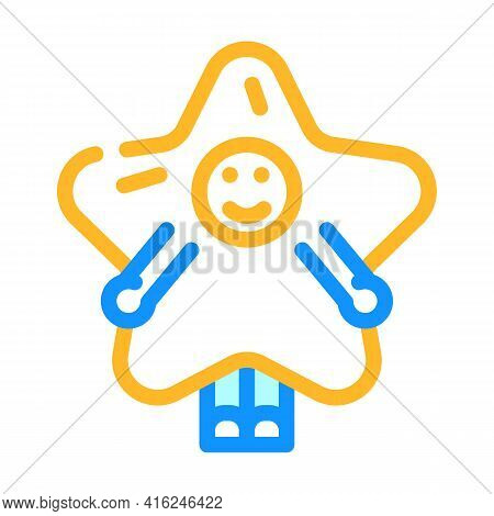 Costume Event Color Icon Vector. Costume Event Sign. Isolated Symbol Illustration