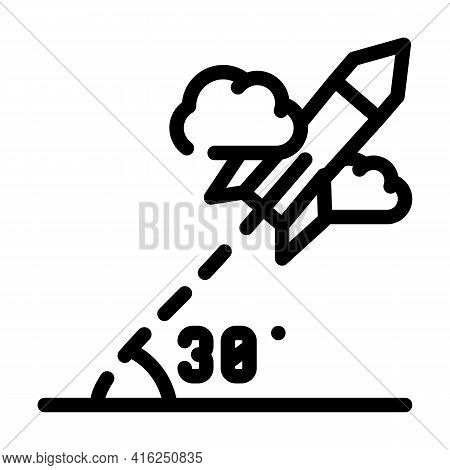 Modeling Self Study Line Icon Vector. Modeling Self Study Sign. Isolated Contour Symbol Black Illust