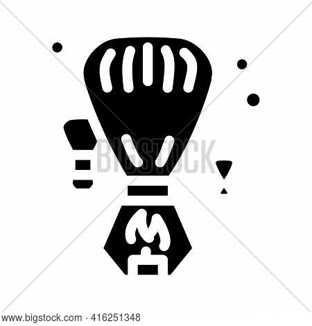 Heavenly Fogariki Event Glyph Icon Vector. Heavenly Fogariki Event Sign. Isolated Contour Symbol Bla