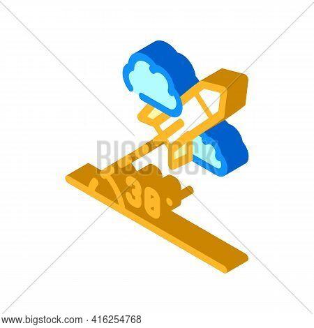 Modeling Self Study Isometric Icon Vector. Modeling Self Study Sign. Isolated Symbol Illustration