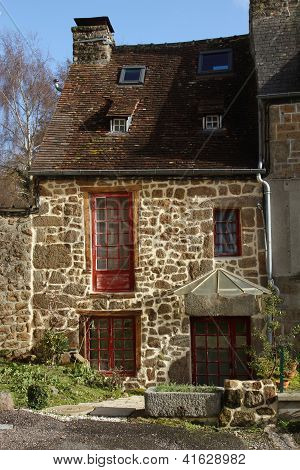 Typical French Stone Cottage