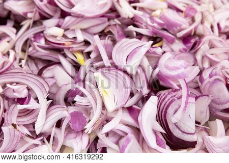 Red Indian Onion Sliced