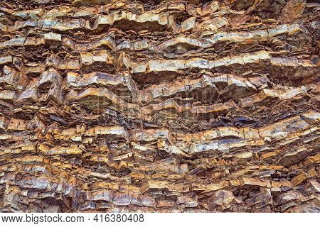 Beautiful Natural Stone Background, Texture Of Rock In Dinaric Alps