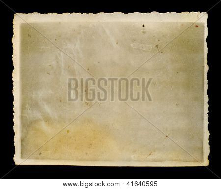 Antique Faded Photograph