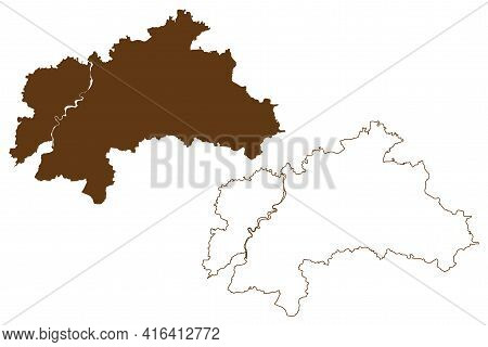 Weilheim-schongau District (federal Republic Of Germany, Rural District Upper Bavaria, Free State Of