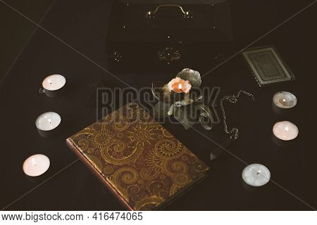 Magic And Fortune Telling Concept, Other Answers, Illustration For Predict Future Materials