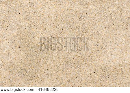Closeup Of Sand As Seamless Texture Or Background