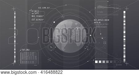 Design Of The Virtual Interface Of The Planetary Protection Program.