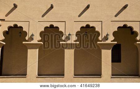 Veranda of an arabic house