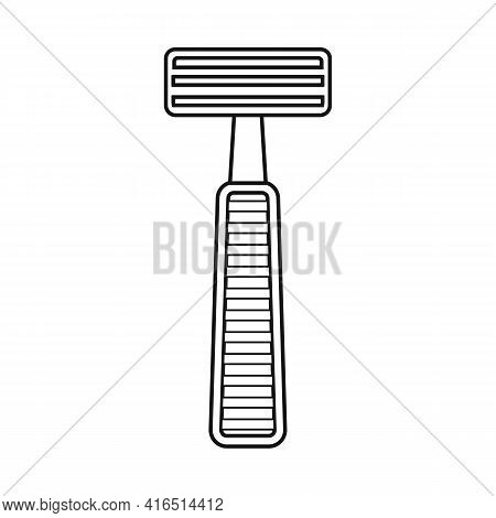 Vector Illustration Of Shaver And Safety Logo. Web Element Of Shaver And Shave Stock Vector Illustra