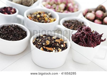 lots of different tea - tea time