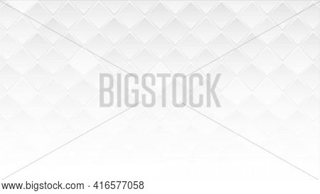 White geometric squares abstract technology background