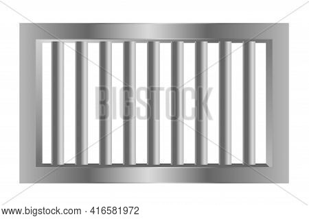 Jail Prision Steel Bars Made With Metal