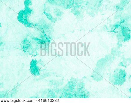 Paint Aquarel Spots Texture. Neo Mint Ink Oil Print. Painted Wallpaper. Paint Aquarel Spots Texture.