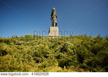 Monument Dedicated To Karadjordje, Leader Of 1st Serbian Uprising (1804-1813) In Belgrade, Serbia On