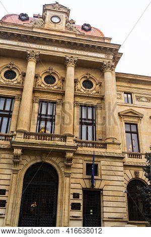 National Bank Of Romania (banca Nationala A Romaniei). Bnr Is The Romanian Central Bank. Bnr Headqua