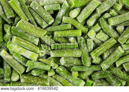 Quick-frozen Green String Beans, Useful Products, Vitamins
