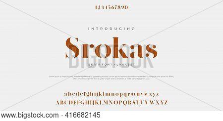 Modern Minimal Abstract Alphabet Fonts. Typography Technology, Electronic, Movie, Digital, Music, Fu