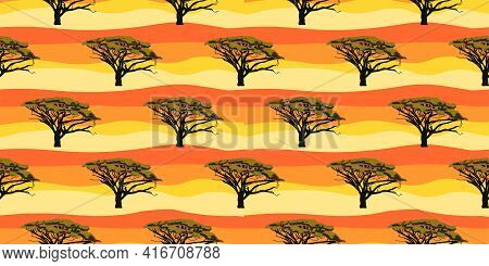 Ethnic Trend. Painting In African Style. Seamless African Pattern. Traditional Pattern. ... Vector I
