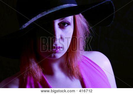 Fashion Hat (extreme Lighting, Pink Gel)